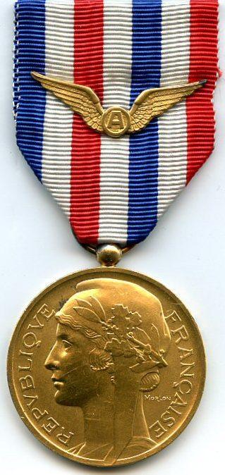 Золотая медаль авиации.
