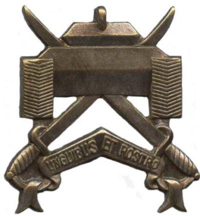 Знак 17-го эскадрона военной разведки.