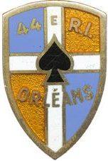 Знак 44-го пехотного полка.