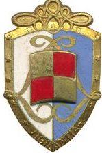 Знак 5-го гусарского полка.