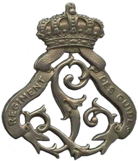Знак 1-го гвардейского кавалерийского полка.
