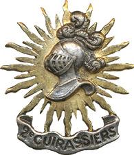 Знак 2-го полка кирасиров.