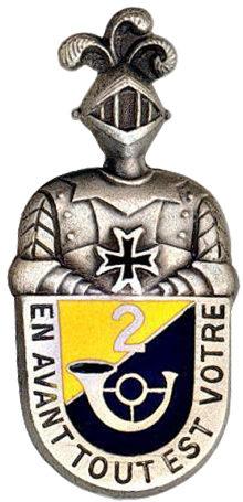 Знак 2-го Африканского егерского полка.