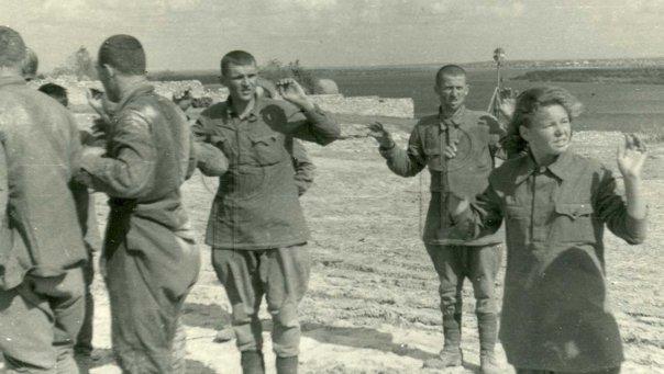 Защитники города в плену. Июль 1942 г.