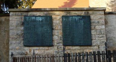 д. Вернсбах. Памятник землякам, погибшим во время Второй мировой войны.