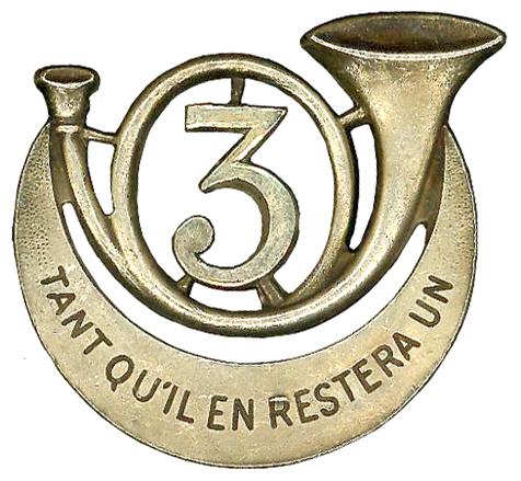 Знак 3-го Африканского егерского полка.
