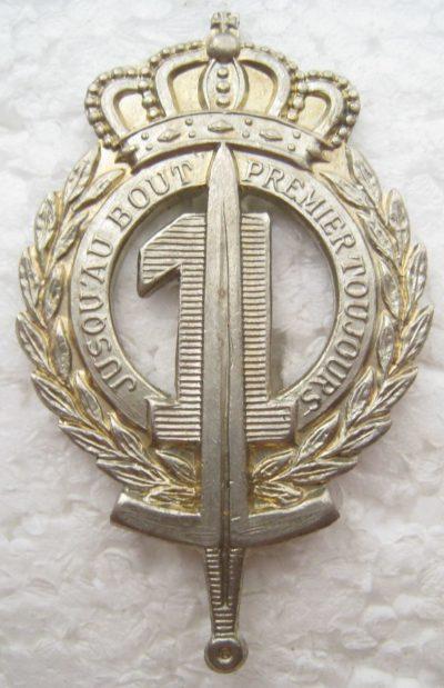 Знак 1-го пехотного линейного полка.