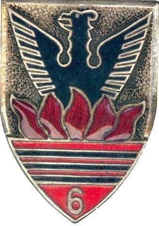 Знак 6-го Африканского егерского полка.