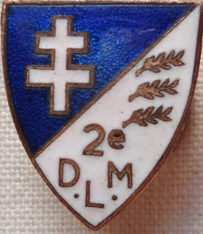 Знаки 2-й бронетанковой дивизии.