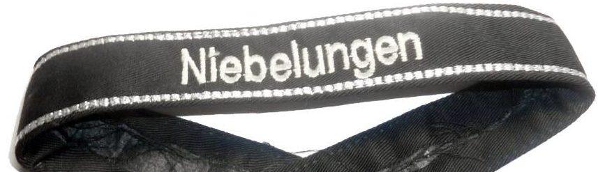 Манжетная лента 38-ой гренадерской дивизии СС «Nibelungen».