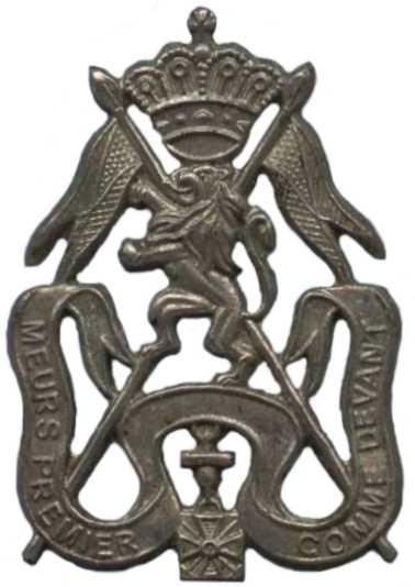 Знак 2-го уланского танкового полка.