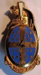 Знак 4-го полка драгунов.