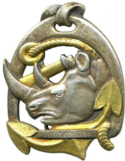 Знак 8-го Африканского егерского полка.