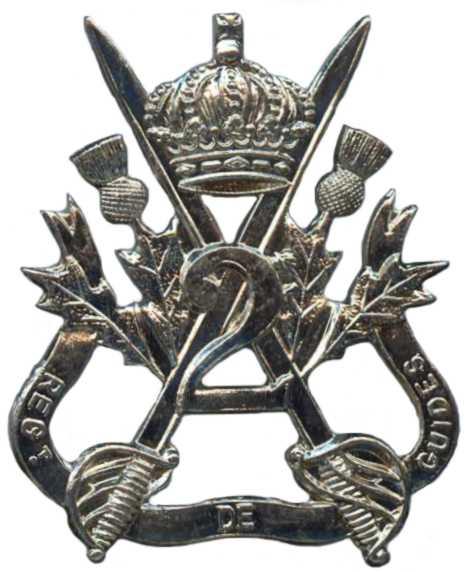 Знак 2-го гвардейского кавалерийского полка.