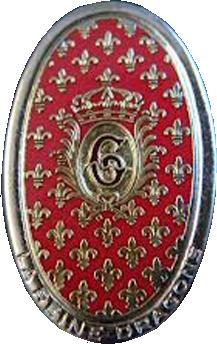 Знак 6-го полка драгунов.