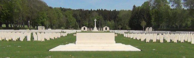 Муниципалитет Гмунд. Воинское кладбище воинов Королевских военно-воздушных сил Соединенного Королевства, Новой Зеландии, Канады и Австралии.