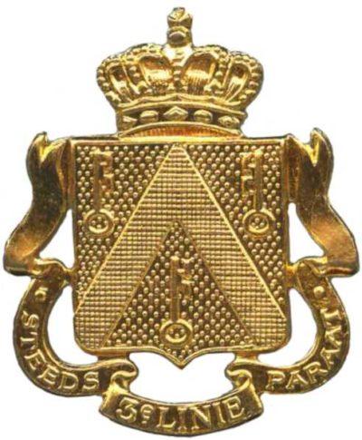 Знак 3-го пехотного линейного полка.