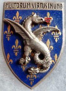 Знак 18-го полка драгун.