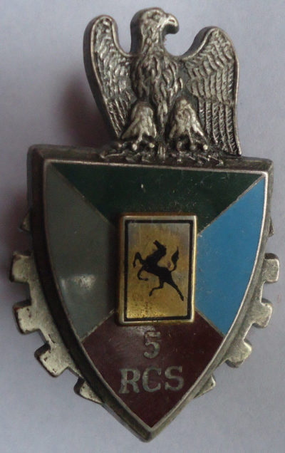Знаки 5-й бронетанковой дивизии.