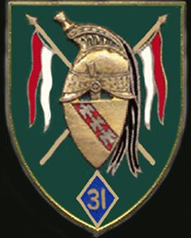 Знак 31-го полка драгун.