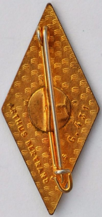 Аверс и реверс знака 57-го пехотного полка.