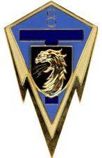 Знак 8-го полка связи.