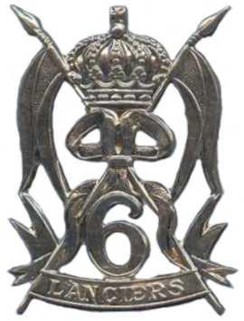 Знак 6-го уланского танкового полка.