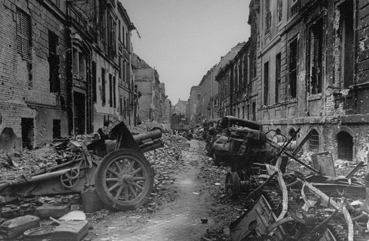 Разбитая советская техника. Лето 1942 г.