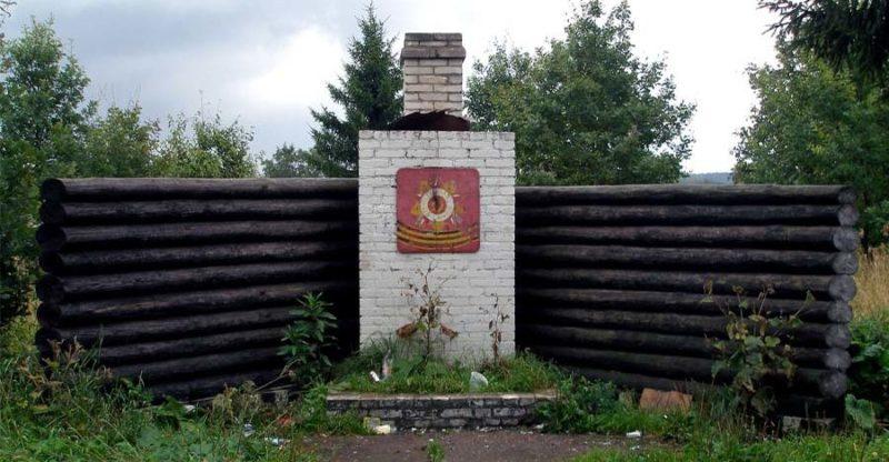 г. Любань Тосненского р-на. Памятник погибшим деревням.