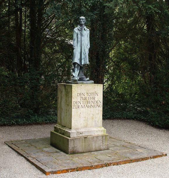 Памятник сожженным узникам.