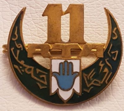 Знак 11-го полка Алжирских стрелков.