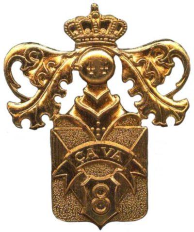 Знак 8-го пехотного линейного полка.