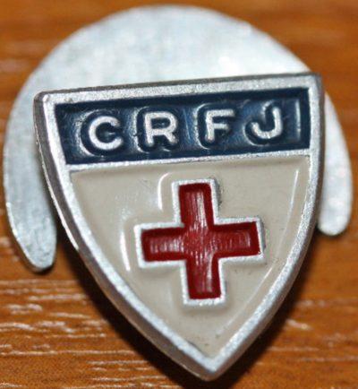 Знаки Французского Красного Креста.