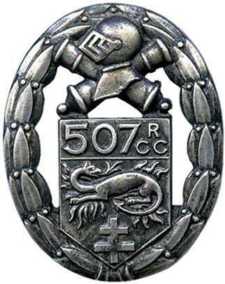 Знак 507-го танкового полка.