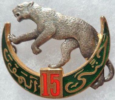 Знак 15-го полка Алжирских стрелков.