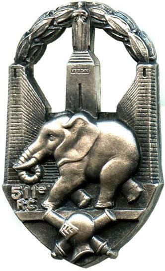 Знак 511-го танкового полка.