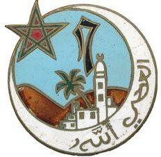 Знак 17-го полка Алжирских стрелков.