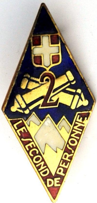 Знаки 2-го артиллерийского полка.