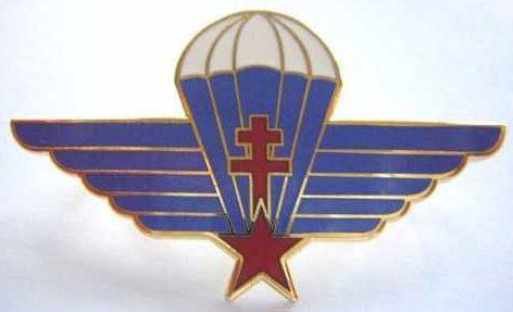Знак военного парашютиста.