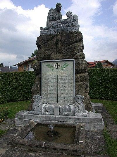 Коммуна Крюн. Памятник 39 землякам, погибшим во Второй мировой войне.