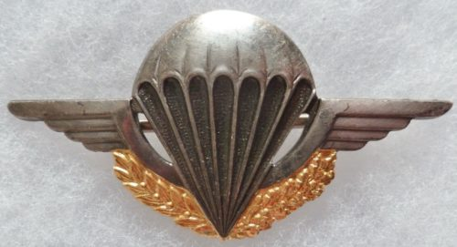 Знак начальной парашютной подготовки в сухопутных войсках.