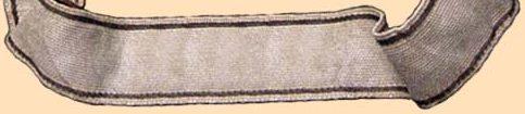 Манжетные ленты низших чинов Имперского управления СС.