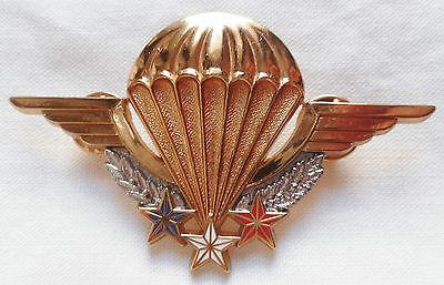 Знак мастера-парашютиста.