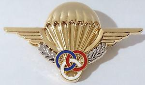Знак инструктора-парашютиста 1 класса.