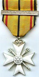 Крест 2-го класса Гражданского знака отличия 1940-1945.