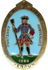 Знак 5-го артиллерийского полка.