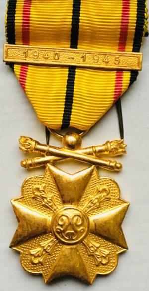 Золотая медаль Гражданского знака отличия 1940-1945.