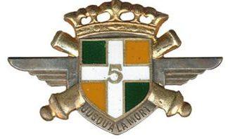Знак 5-го воздушно-десантного артиллерийского полка.