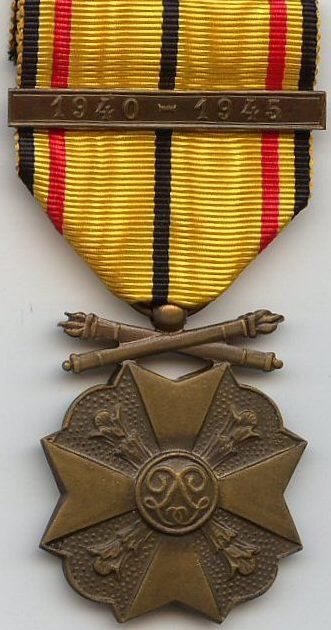 Бронзовая медаль Гражданского знака отличия 1940-1945.