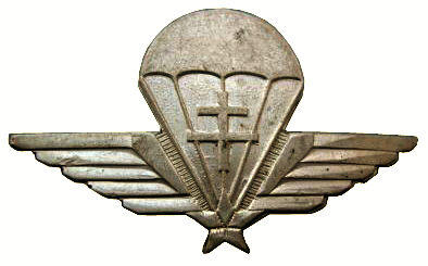 Знаки подразделений парашютных коммандос.